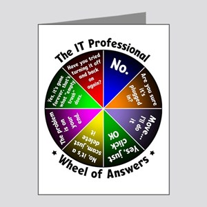 The IT Professional Note Cards (Pk of 20)
