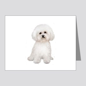 Bichon Frise #2 Note Cards (Pk of 20)