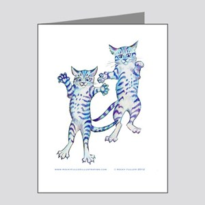 Tabby Tshirt Note Cards (Pk of 20)