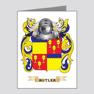 Butler Coat of Arms Note Cards (Pk of 20)