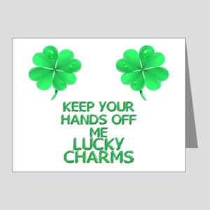 lucky-charms Note Cards (Pk of 20)