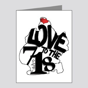 Love to the 718 (Brooklyn) Note Cards (Pk of 20)