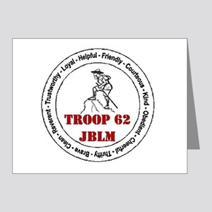 troop 62 Note Cards