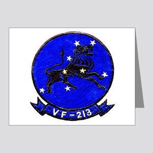 VF-213 Black Lions Note Cards (Pk of 20)