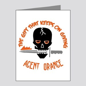 Agent Orange Note Cards (Pk of 20)