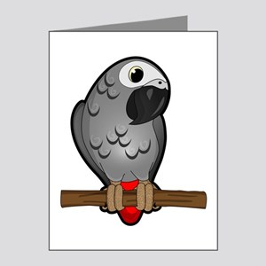 African Grey Note Cards (Pk of 20)