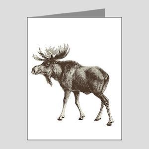 Moose-is-Loose-whtie Note Cards (Pk of 20)