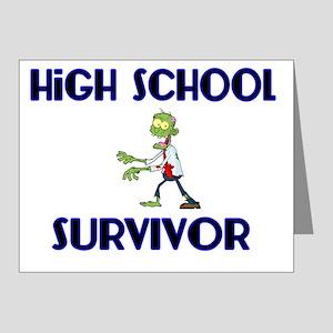 High School Survivor-Zombie- Note Cards (Pk of 20)