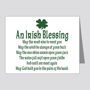 Irish Blessing Note Cards (Pk of 20)