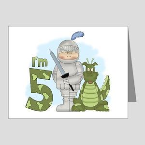 Dragon Knight 5th Birthday Invitations (Pk of 20)
