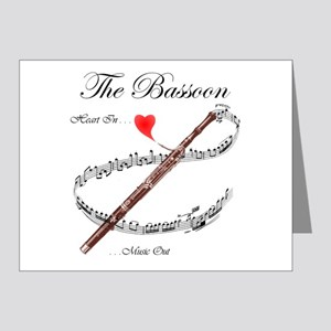 The Bassoon Note Cards (Pk of 20)