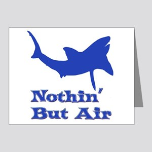 Leaping Great White Note Cards (Pk of 20)