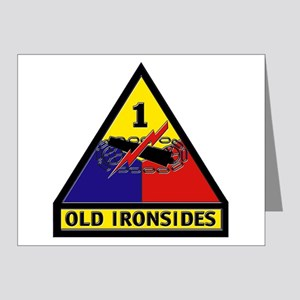 1st Armored Division Note Cards (Pk of 20)