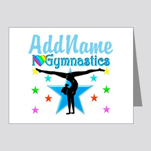 GYMNAST POWER Note Cards (Pk of 20)