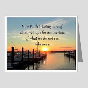 HEBREWS 11:1 Note Cards (Pk of 20)
