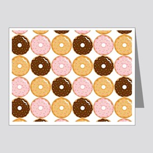 Frosted Donut Pattern Note Cards (Pk of 20)