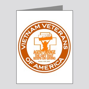 VVA Orange Note Cards (Pk of 20)