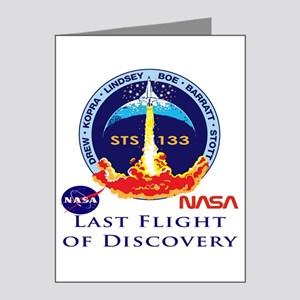 Last Flight of Discovery Note Cards (Pk of 20)