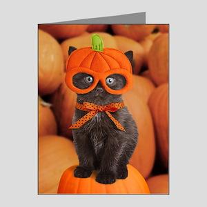 Pumpkin Kitten Note Cards (Pk of 20)
