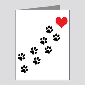 Paw Prints To My Heart Note Cards (Pk of 20)