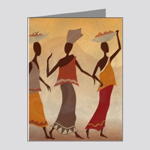 African Women Note Cards (Pk of 20)