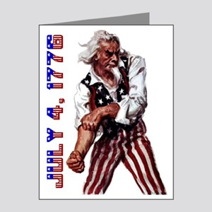 Uncle Sam July 4 Note Cards (Pk of 20)