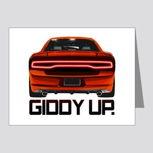 Charger - Giddy Up Note Cards (Pk of 20)