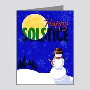 Happy Solstice Note Cards (Pk of 20)