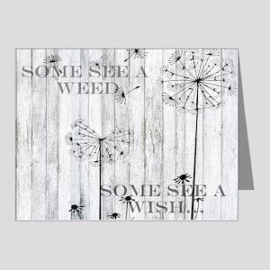 Dandelion Wish Note Cards (Pk of 20)