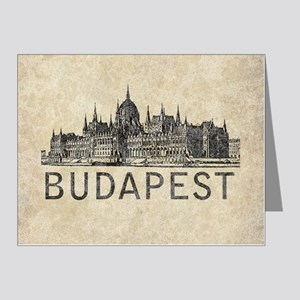 Vintage Budapest Note Cards (Pk of 20)
