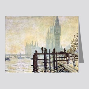 Claude Monet Westminster Bri Note Cards (Pk of 20)