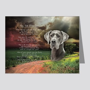 godmadedogs(button) Note Cards (Pk of 20)