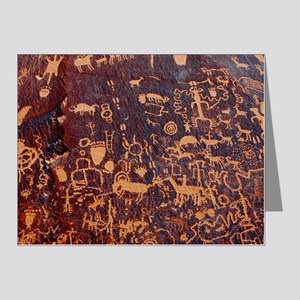 Newspaper Rock Wide FINAL Note Cards (Pk of 20)