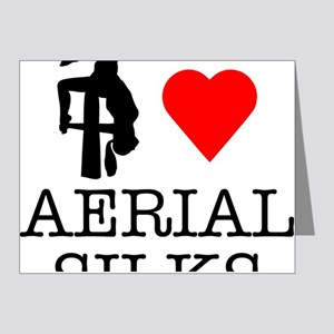 I Love Aerial Silks Note Cards (Pk of 20)