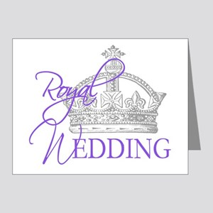 Royal Wedding  Crown 2 Note Cards (Pk of 20)