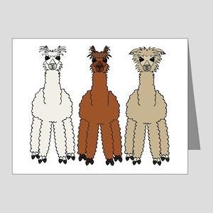 alpaca - no text Note Cards (Pk of 20)