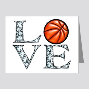 Love Basketball Note Cards (Pk of 20)