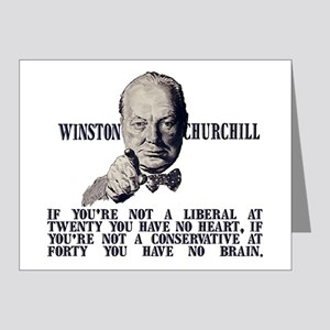Churchill Liberals and Conse Note Cards (Pk of 20)