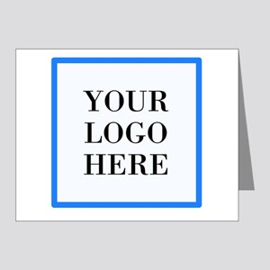 Your Logo Here Note Cards