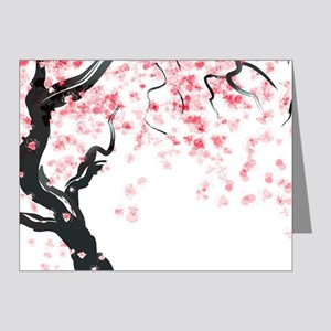 Japanese Cherry Tree Note Cards