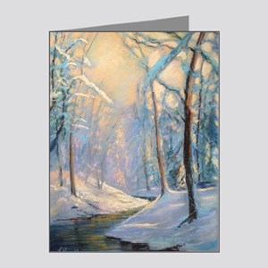 Winter Brook Pastel Note Cards