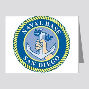 Naval Base San Diego Note Cards (Pk of 20)