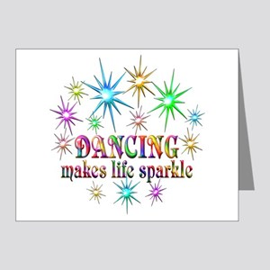 Dancing Sparkles Note Cards (Pk of 20)