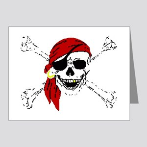 Pirate Skull Note Cards (Pk of 20)