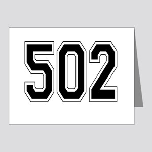 502 Note Cards (Pk of 20)