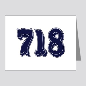 718 Note Cards (Pk of 20)