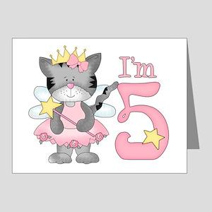 Kitty Princess 5th Birthday Invitation (20 pk)