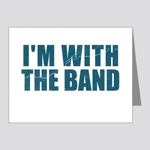 Im With the Band Note Cards (Pk of 20)
