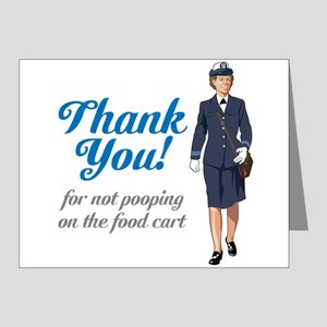 Poo'd Cart Note Cards (Pk of 20)