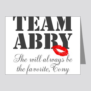 Team Abby Note Cards